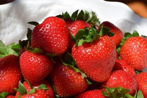 Honey Strawberries