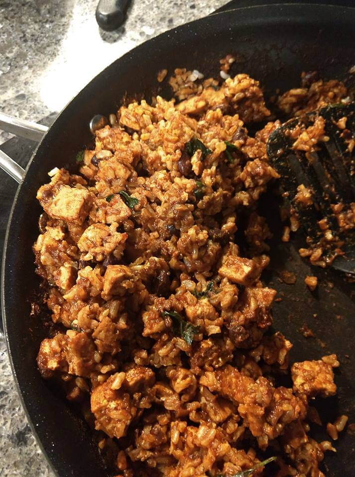 Dawn's Tofu Sofrito Rice