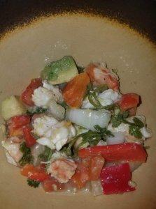 Nadine's Shrimp Ceviche