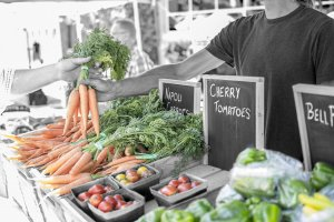 We Buy Local Produce as Much as Possible
