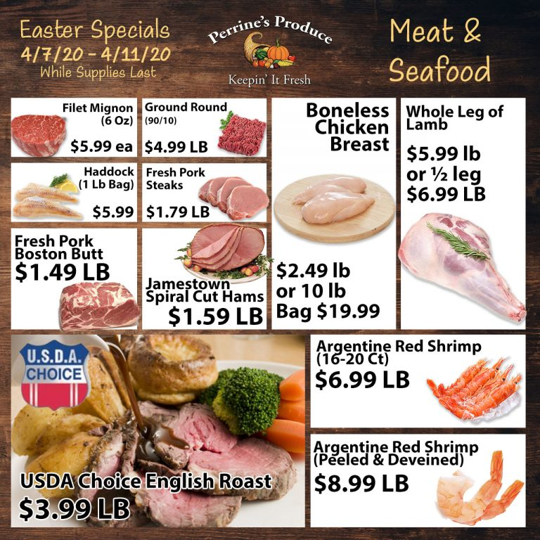 Meat & Seafood