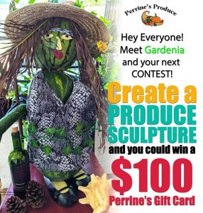 Create a Produce Sculpture Contest