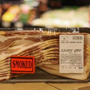 Corn Cobs Smoked Bacon