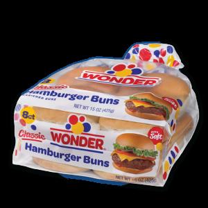 Wonder Hamburger Buns 8 pack