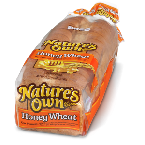 Nature's own Honey Wheat Bread 20oz