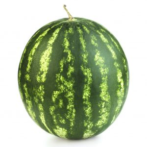 Seedless watermelons whole